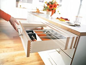 Blum Tandem Drawer Slides with BLUMOTION 563H 21inch