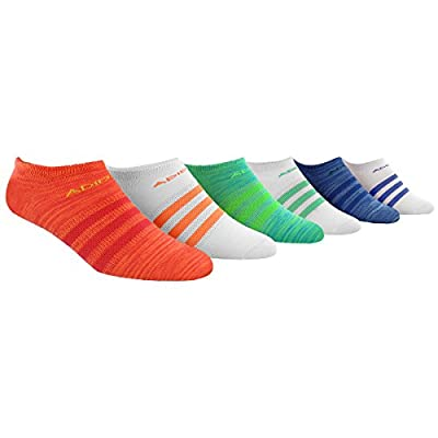 Adidas Women's Superlite No Show Socks (6-Pack)