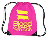 Blood On The Dance Floor Gym Bag Pink