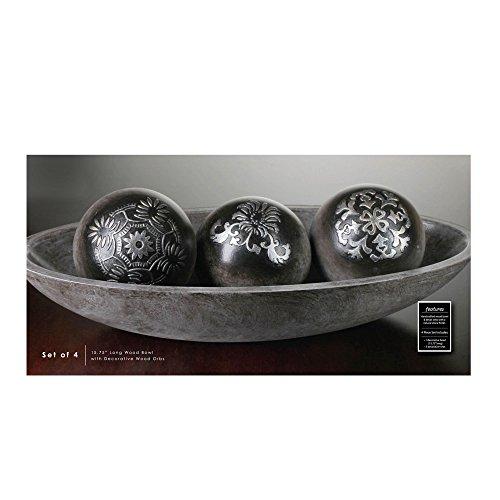 Black Decorative Balls For Bowls: Orbs, Balls, Spheres