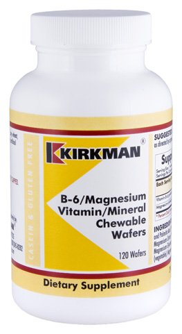 B-6 / Magnésium Vitamine / Minéral croquer Wafer