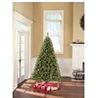 Holiday Time Pre-Lit 6.5' Madison Pine Artificial Christmas Tree with Clear Lights (Green)