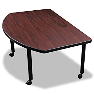 Balt modular d shaped radius conference table for Modular dining table