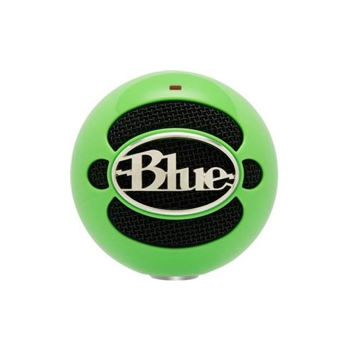 Blue Microphones Snowballneongreen / Snowball Usb Mic Neon Green