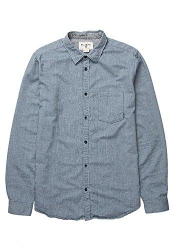 Billabong All Day Oxford-Camicia a maniche lunghe, da uomo, colore blu, taglia: XL (taglia del produttore: XL)