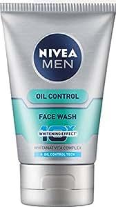 Nivea Men Oil Control 10x Whitening Face Wash, 100g