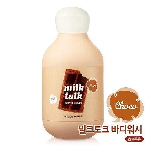 エチュードハウス ミルク・トーク・ボディー・ウォッシュ・チョコレート・ミルク 200ml