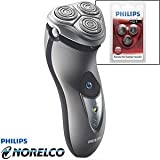 Philips Norelco Speed XL Shaver 8245XLD - SPECIAL VALUE Includes Extra Shaving Head Pack
