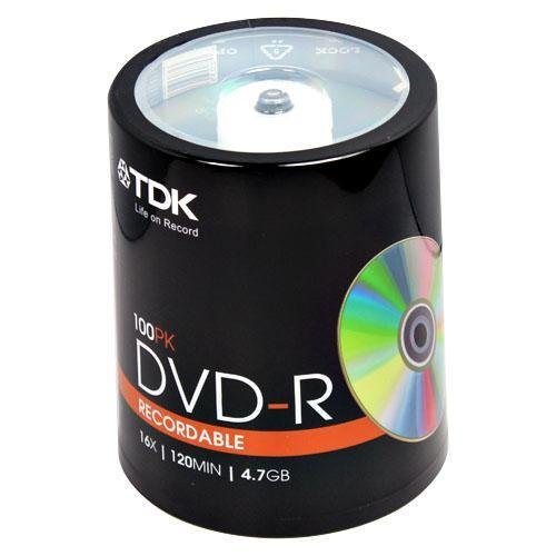 020356485207 - TDK48520 - TDK DVD-R Discs carousel main 0