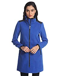Only Women's Casual Coat (_5712835122141_Surf The Web_X-Large)