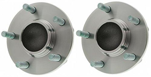 Pro Driven (Both) 512348 Wheel Bearing & Hub Assembly Rear for Mazda 3 5 Bolt W/o ABS 2-pc (Mazda 3 Rear Wheel Bearing compare prices)