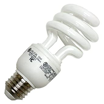GE 85394 - FLE15HT3/2/D Twist Medium Screw Base Compact Fluorescent Light Bulb