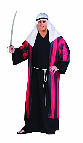 [RG Costumes Men's Plus Male Arabian Knight Costume, Adult X-Large] (Arabian Costumes For Men)