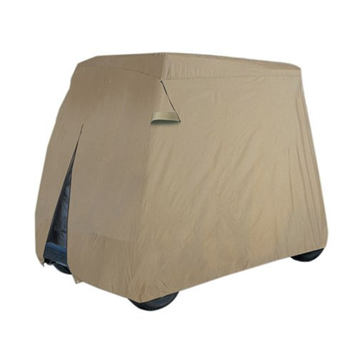 Classic Accessories Fairway Golf Car Easy-On Cover (Fits most two-person golf cars)