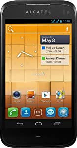 Alcatel One Touch 997D Smartphone (10,9 cm (4,3 Zoll) Touchscreen, Dual-Core, 1GHz, 1GB RAM, 8 Megapixel Kamera, Dual-SIM, Android 4.0) orange