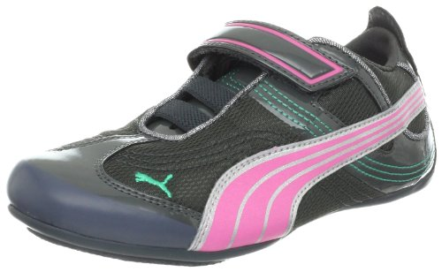 PUMA Takala Sneaker (Toddler/Little Kid/Big Kid),Dark Shadow/Pink/Silver,7 M US Toddler