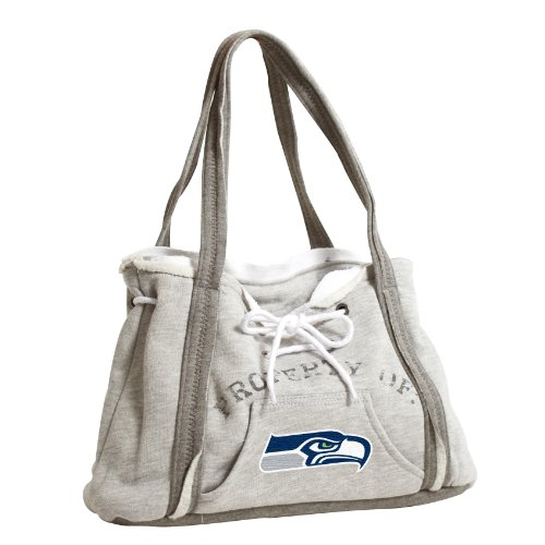 NFL Seattle Seahawks Hoodie Purse, Grey 1 at Amazon.com