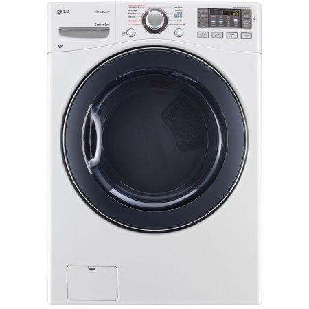 Lg Dlgx3571W Steamdryer 7.4 Cu. Ft. White Stackable With Steam Cycle Gas Dryer