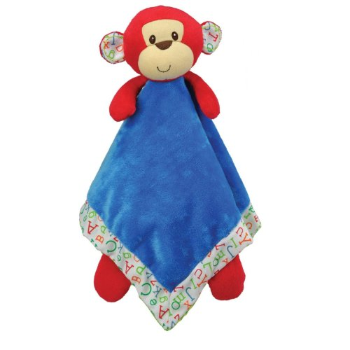 Kids Preferred Smarty Kids Blanky, M is for Monkey (Discontinued by Manufacturer) - 1