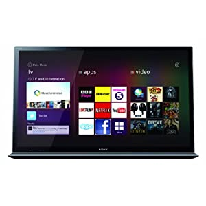 Sony KDL55HX853 55-inch Widescreen Full HD 1080p SMART 3D Dynamic LED Television with Built-in Home Cinema System Stand