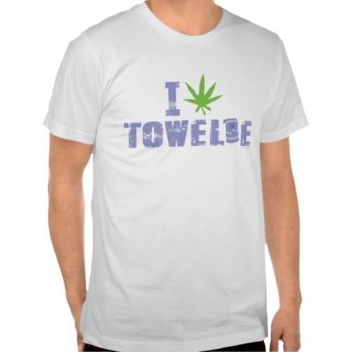 South Park: I Marijuana Towelie Tee - Mens