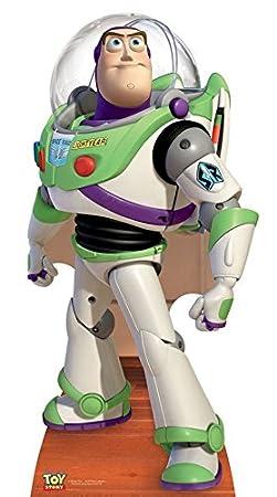 Star Cutouts STSC373 Figurine Géante Carton Buzz l'Éclair Toy Story, Taille Unique