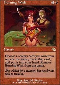 Magic: the Gathering - Burning Wish - Judgment - 1