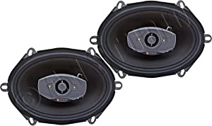 "Boston Acoustics SC85 5"" x 7"" 2-way Car Audio Speakers"