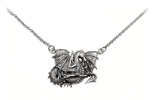 The Guardian Dragon Silver Necklace