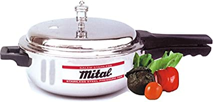 Mital-Senior-Stainless-Steel-4-L-Pressure-Cooker-(Outer-Lid)