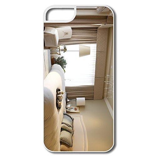 Designer Brand New White Bedroom Iphone 5/5S Cases