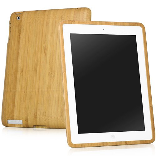 BoxWave True Bamboo Apple iPad 3 Case, 100% Authentic Premium Grade Genuine Bamboo Wood iPad 3 Cover Shell Case - iPad 3 Cases and Covers (Natural)