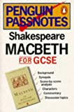 Macbeth (Penguin Passnotes) (0140770089) by Shakespeare, William