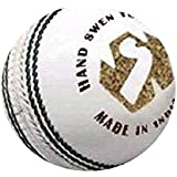 World Sports Genuine Quality WS Cricket Ball (White) (Pack Of 5)