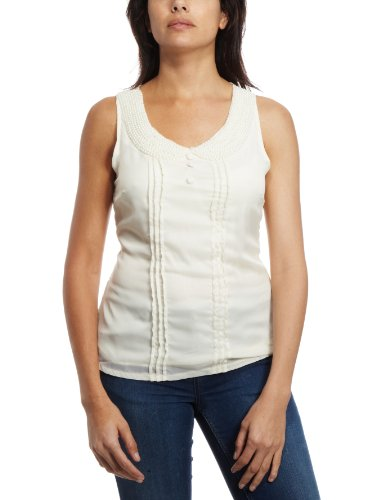 Yumi Esther Women's Blouse Cream Large