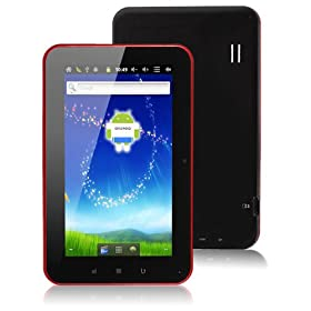 Allwinner A710 7 Inch Google Android 2.3 Capacitive Screen A10 Cortex A8 1ghz Tablet Pc