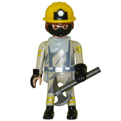 Playmobil Fi?ures Series 5 LOOSE Mini Figure Miner