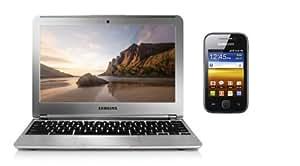 """Samsung Chromebook 11,6"""" + Galaxy Y Noir"""