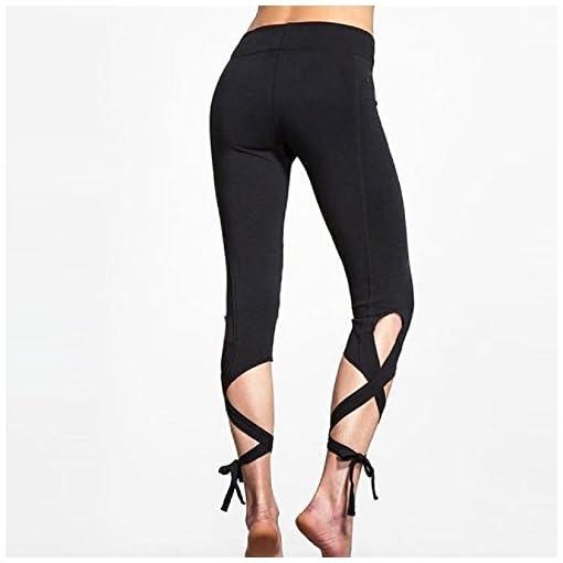 Sharondar-Donne-Sport-Gym-Yoga-allenamento-ritagliata-Leggings-fitness-Salone-Athletic-Pants