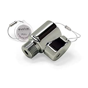 Evolve Showerheads SS-1002CP-US Ladybug Water-Saving Shower-Head Adapter, Chrome Polish