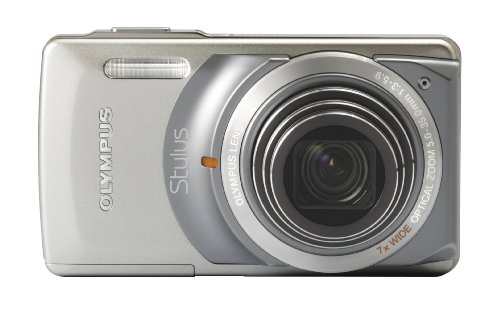 Olympus Stylus 7010 12Mp Digital Camera With 7X Dual Image Stabilized Zoom And 2.7 Inch Lcd (Silver)
