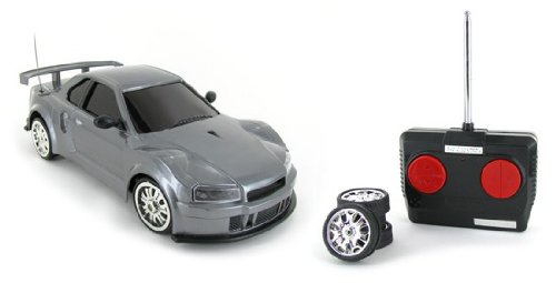 1:18 Super Drift 4Wd Nissan Skyline Electric Rtr Remote Control Rc Car (Color May Vary)