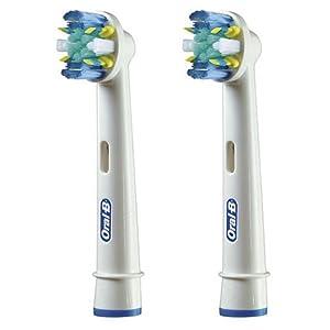 ブラウン オーラルB 電動歯ブラシ 替ブラシ 歯間ワイパー付きブラシ(フロスアクション) 2本入り EB25-2-EL