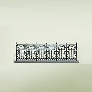 Haunted Wrought Iron Fence