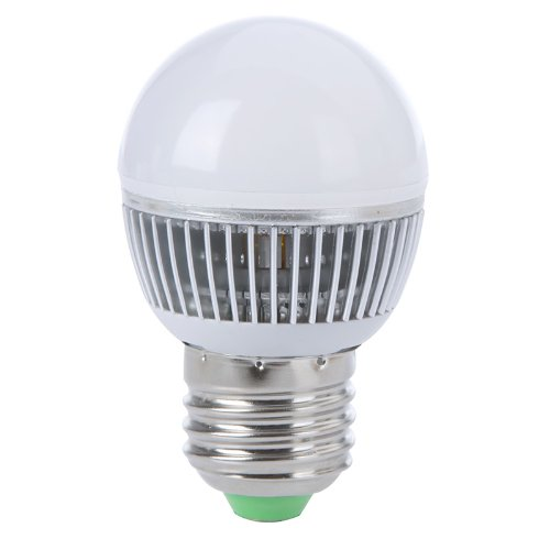 3W E27 Led Bubble Ball Bulb Globe Lamp Smd 5730 High Brightness Energy Saving Light 85-265V 3000-3500K Warm White