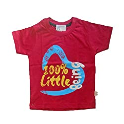 NammaBaby Premium Tshirt Solid Color Printed T-Shirts (2-3 Years)