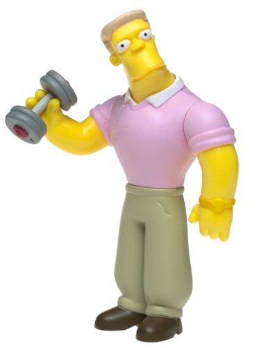 The Simpsons Series 11 Action Figure Rainier Wolfcastle