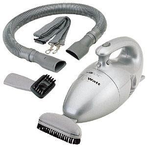 Clatronic-HS-2631-Handstaubsauger-mit-Zubehr-700-Watt-silber