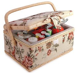 Learn More About Sewing Basket with Accessories
