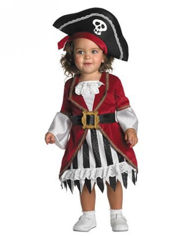 Disguise Inc Unisex Child Princess Pirate Infant Costume